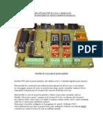 Interfaz LPT para CNC de 3 o 4 ejes