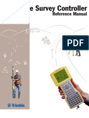 Trimble TSC1 Reference Manual | Surveying | Implied Warranty