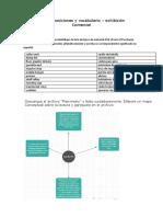Taller sobre preposiciones y vocabulario