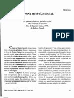 A Nova Questão Social - Resenha