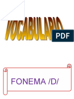 VOCABULARIO  Y AUTOMATIZACION