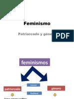 Feminismo-patriarcado y genero