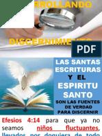 DESARROLLANDO DISCERNIMIENTO ESPIRITUAL 07