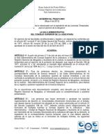 ACUERDO Nº PSAA13 - 9901 MAYO 6 2013