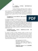 T-424-93 falsedad de documento privado