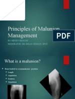 Principles of Malunion Management -.pptx