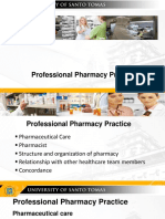 Foreign and Local Organizations (Pharmacy)