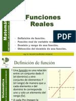 11. FUNCIONES REALES