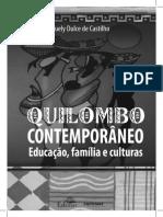 Castilho, livro - Quilombo contemporâneo