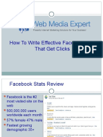 How to Write Effective Facebook Ads That Get Clicks