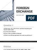 FOREX questions