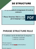 Phrase Structure Presentation (basic)