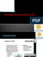 CHE 165A L3 - Introduction to AutoCad and Review of Process Drawings