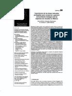 . Importancia de las áreas naturales protegidas para conservar y generar conocimiento biológico de las especies de venados en México