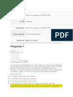 Evaluación Inicial BUSSINES PLAN