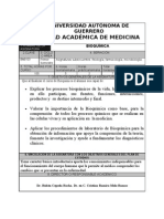 Programa de bioquimica