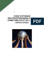 OHADA_Code d'éthique des professionnels de la comptabilité et de l'audit.pdf