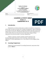 LAS-CARPENTRY-11-week-2
