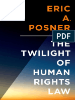 Eric Posner - The Twilight of Human Rights Law-Oxford University Press (2014)