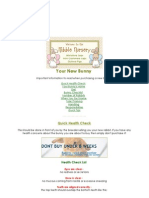 Nibble Nursery - Rabbit Care - Your New Bunny