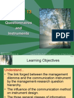 Chapter  11, Questionaires and Instruments.ppt