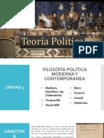 Láminas TEORÍA POLÍTICA Unidad 3 (2020)