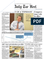 The Daily Tar heel for January 25, 2011
