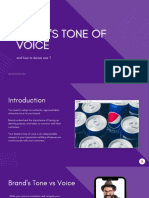 Here's everything you need to know about a brand's tone of voice & how to derive one