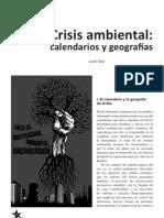 Díaz, Lucio - Crisis ambiental. Calendarios y geografías