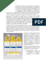 Qué es el OEA