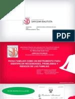Clase 9 Ficha Familiar Como Instrumento Necesidades