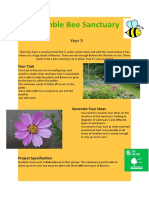 design breif bumble bee sanctuary
