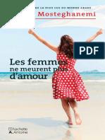 Ahlem Mosteghanemi- Les femmes ne meurent plus damour- Jericho.pdf