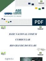 Apresentação Padrão BNCC Atualizada -Junho 2018