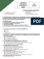 BANCO DE PREGUNTAS BIOLOGIA SOLUCION VERDADERA