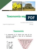 Clase 1. Taxonomía vegetal -introducción - historia