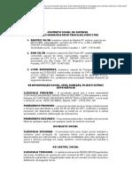 Exemplo de Contrato Social de sociedade LTDA pronto _ _ Passei Direto