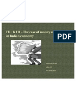 FDI and FII – The case of money
