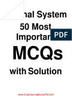 Signal System 50 Most Important MCQs with Solution.pdf