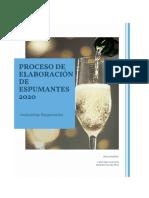PROCESO DE ELABORACIÓN DE ESPUMANTES