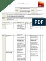 TDP Monitoring Visit Risk Assessment Sept 2020