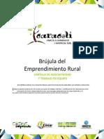Brújula del Emprendimiento Rural CARTILLA DE ASOCIATIVIDAD Y TRABAJO EN EQUIPO