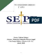 MAURICIO RIVERA - PROYECTO EFESIOS 4-25-32 - II PARTE