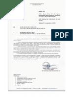 Oficio Subsecretaria Pesca Cuota Erizo