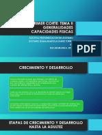 GENERALIDADES CAPACIDADES FÍSICAS 2020-2