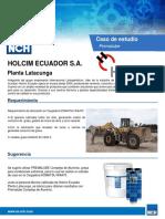 Holcim ( ECUADOR)_CS_LU_PREMALUBE_2018