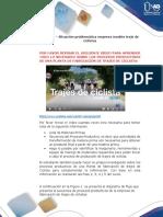 Anexo 1 – Situación problemática empresa modelo traje de ciclistas