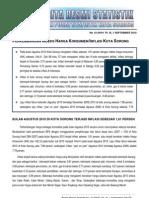 09. Inflasi Kota Sorong September 2010