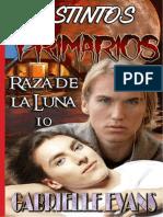 Gabrielle Evans - Serie Raza de Luz de Luna - 10. Instintos Primarios