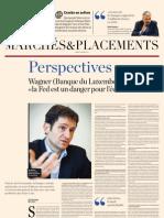 Perspectives 2001 Les-echos
